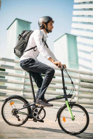 La bici pieghevole:una moda da più di cento anni